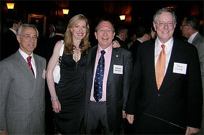 Malcolm and Christina with Steve Forbes